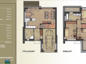 1. számú új családi ház